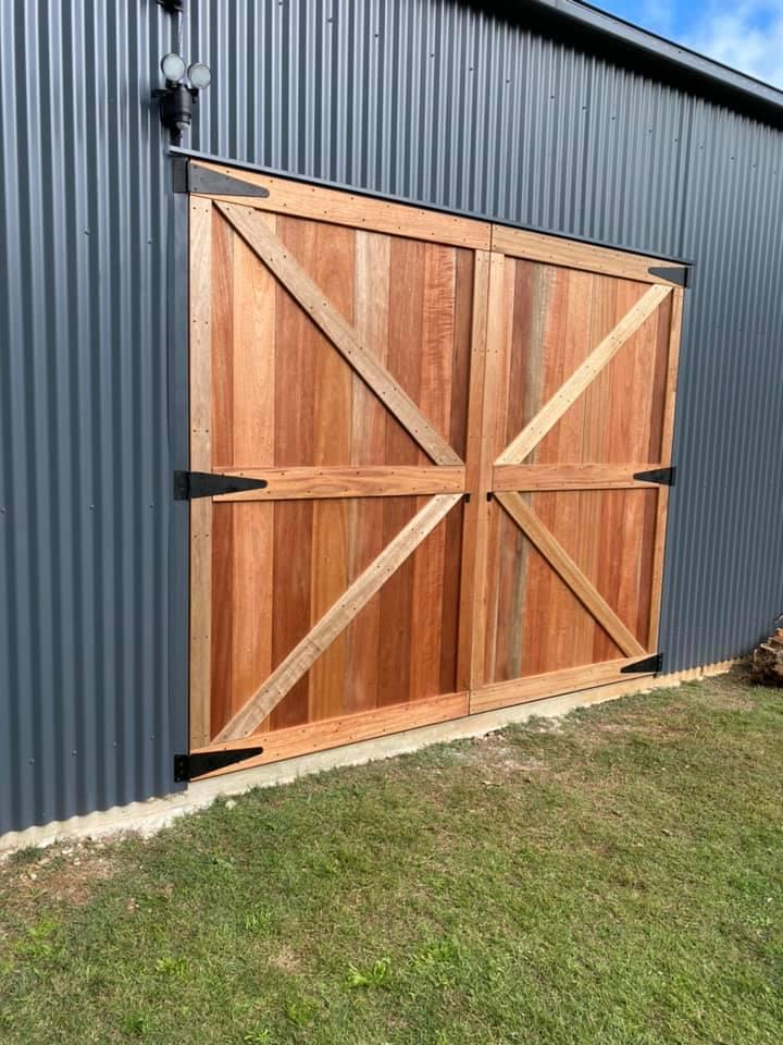 Hinged Barn Door